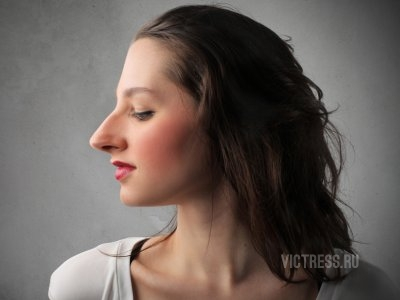 Некрасивый нос у девушек фото
