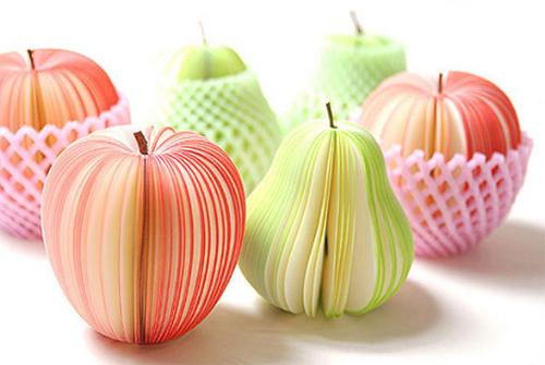 фруктовая нарезка яблока и груши