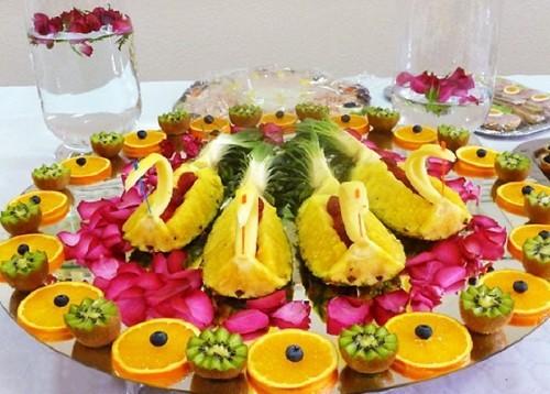 фруктовая нарезка для праздника