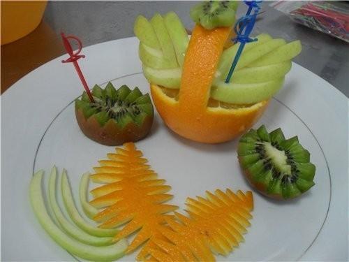 красивая фруктовая нарезка