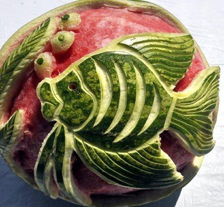 карвинг из арбуза