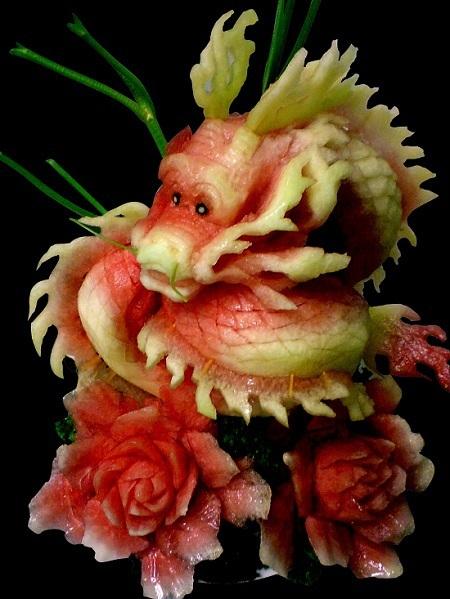 карвинк дракон из арбуза