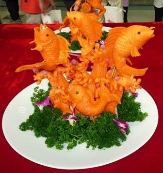 карвинг из морковки