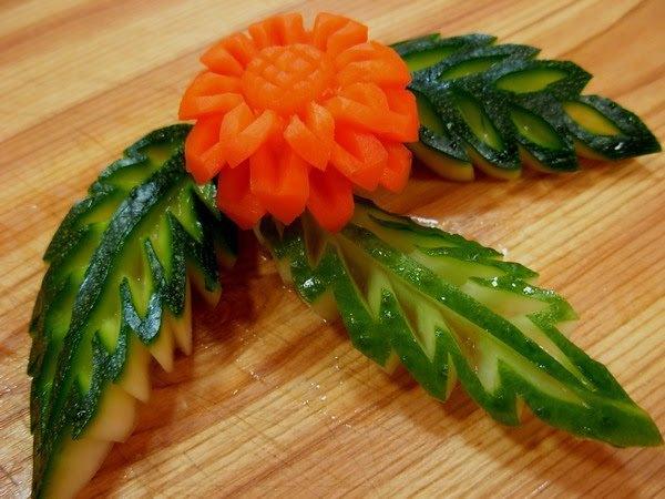 карвинг на овощах