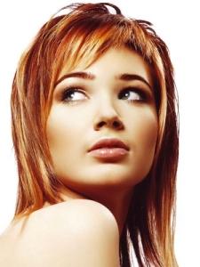 клорирование рыжих волос
