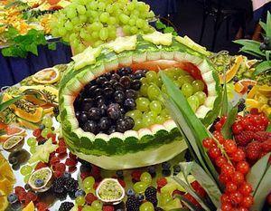 нарезка из фруктов фото