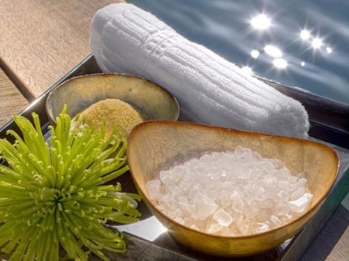 что нужно  для солевого обертывания