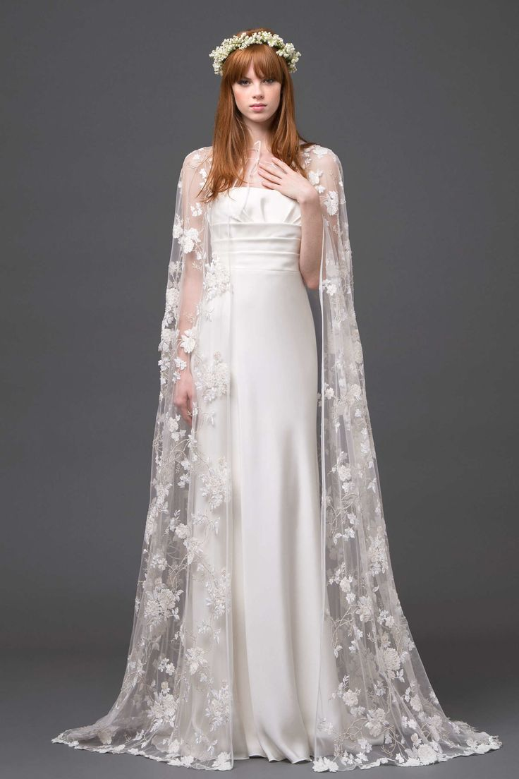 Wedding Capes / Alberta Ferretti Spring 2015