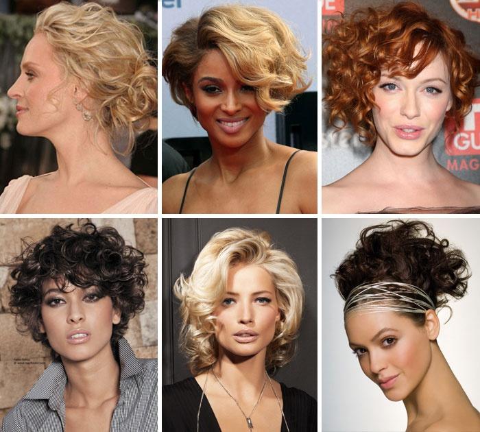Модные укладки на короткие волосы для женщин