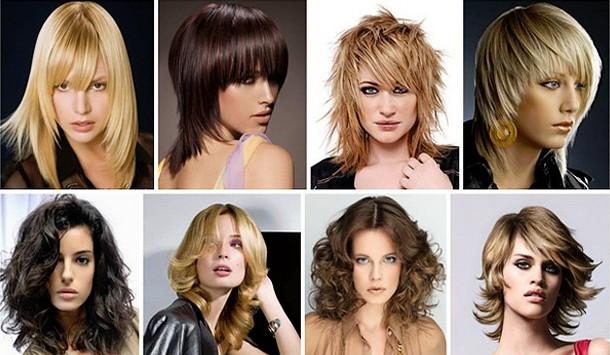 стрижкина средние волосы для девушек 2016