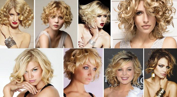 Модная укладка на средние волосы как сделать 264