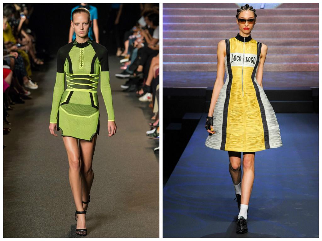 Модели платьев спортивных
