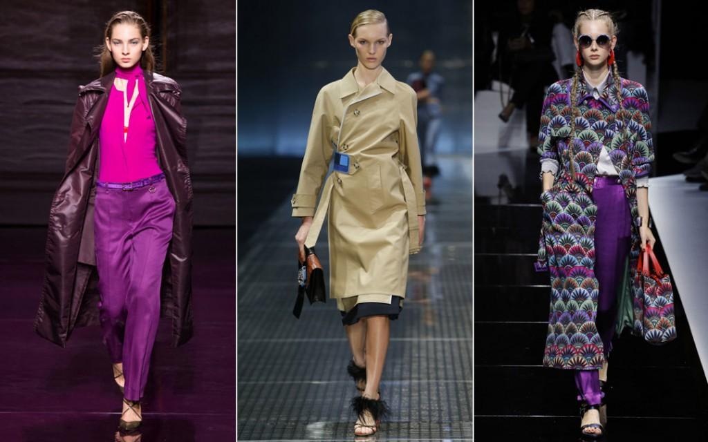 Модные плащи весна лето 2017