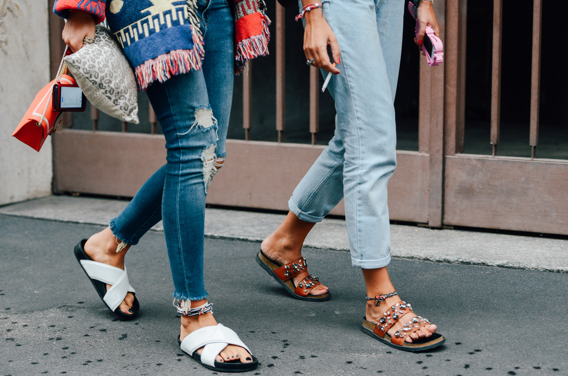Jeans and shoes fashion