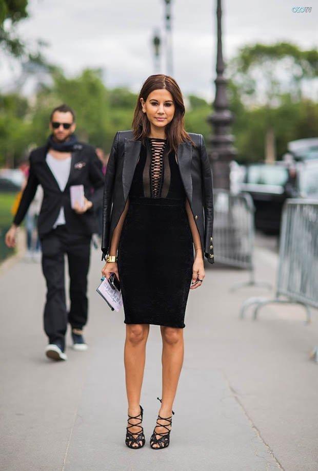 Маленькое коктейльное платье черного цвета