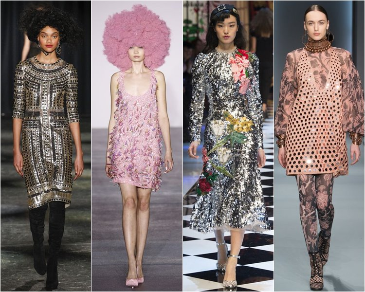 Коктейльные платья от Naeem Khan, Ashish, Dolce & Gabbana, Zimmermann