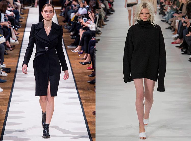 Трендовые черные платья