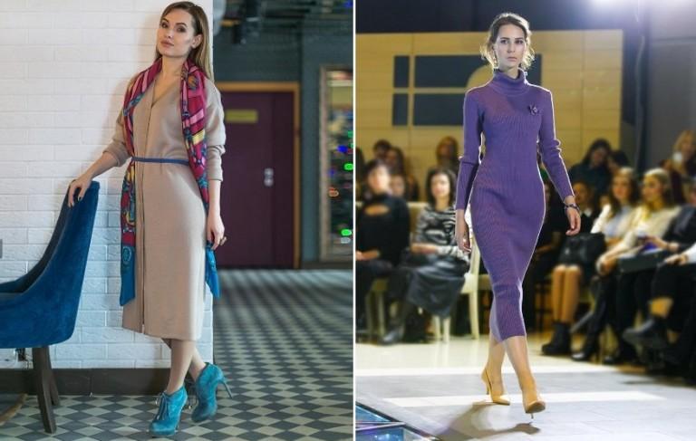 Трикотажныее платья
