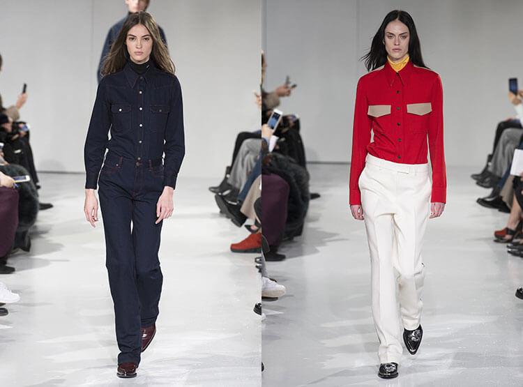 Модные блузки под пояс
