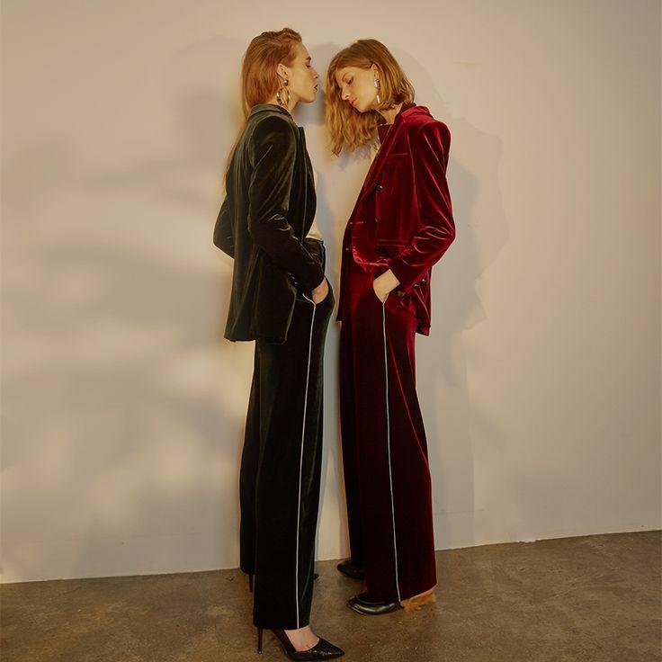 бархатные пиджаки фото женские