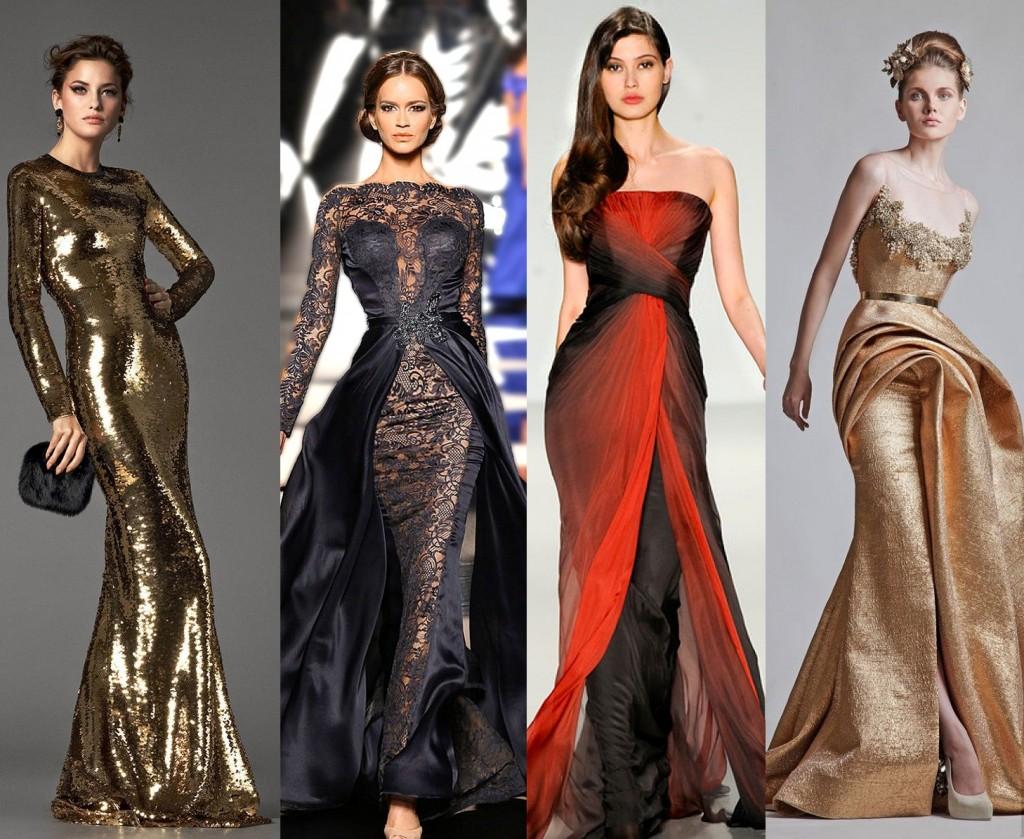 Красивый платья на новый год 2017