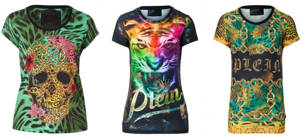 Модные принты на футболках 2018