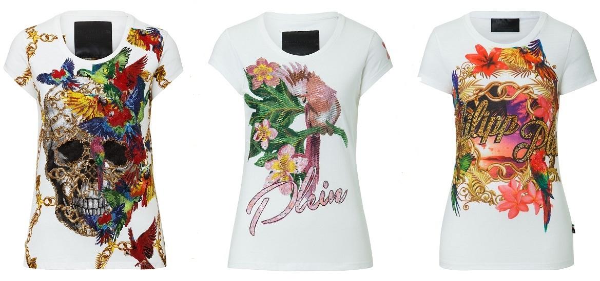 Цветы на футболке