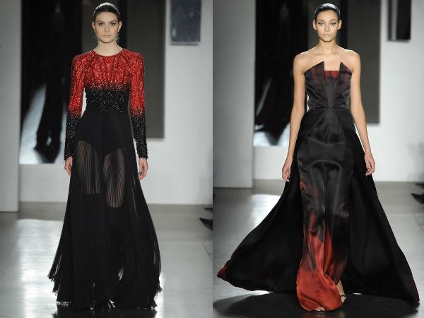Модные вечерние платья со шлейфом