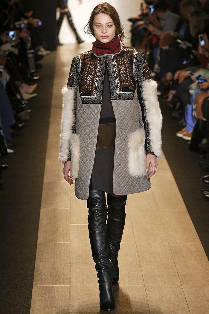 Кардиган-пальто с накладными карманами