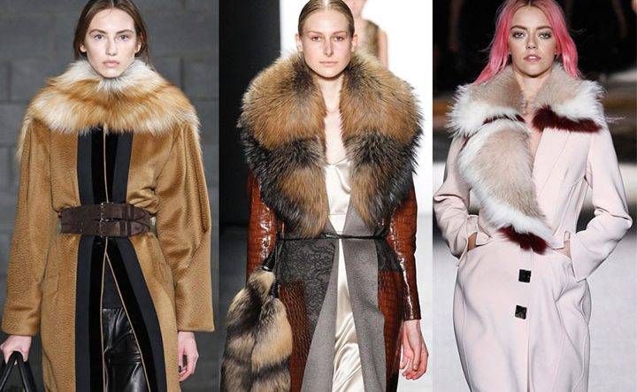 Современная отделка пальто