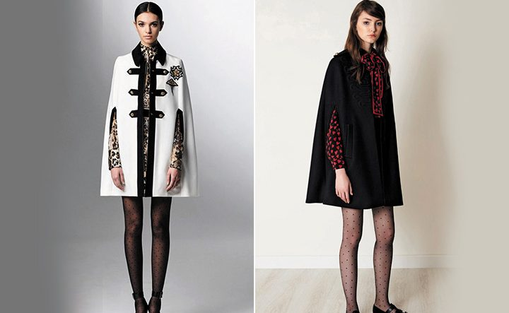 Модное пальт кэйп