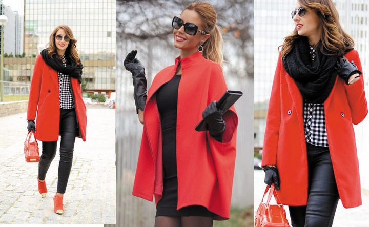 Красные пальто
