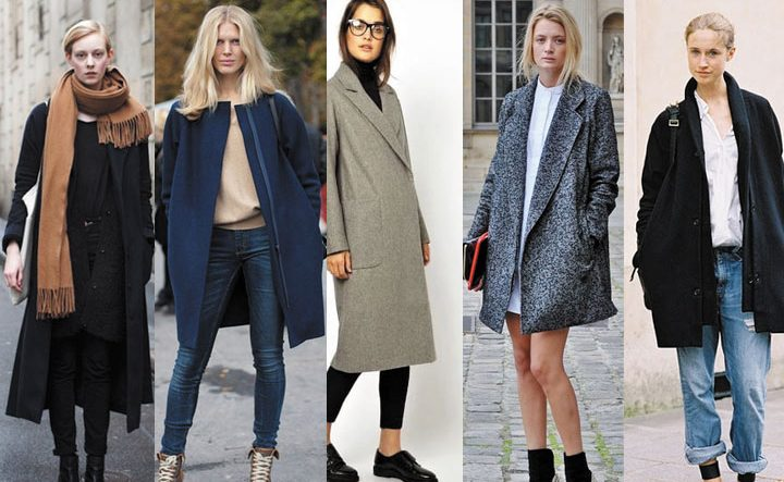 Пальто -оверсайз подходит всем