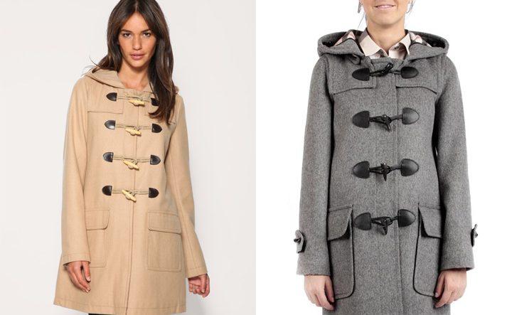 Интересный фасон пальто