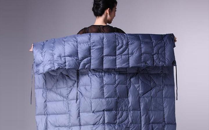 Пуховик -одеяло