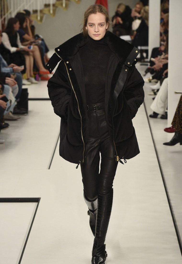 Объемная куртка